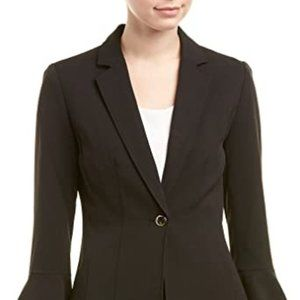 Tahari by ASL Bi-Stretch Jacket w/Tulip Sleeve-NWT